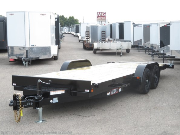 2021 Midsota TB8220 Tilt Deck 10k Trailer - Black available in Ramsey, MN