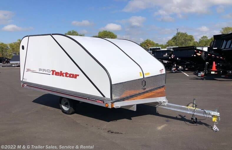 2021 FLOE 12' ProTektor 2 Place Snow Trailer - Stock #000281