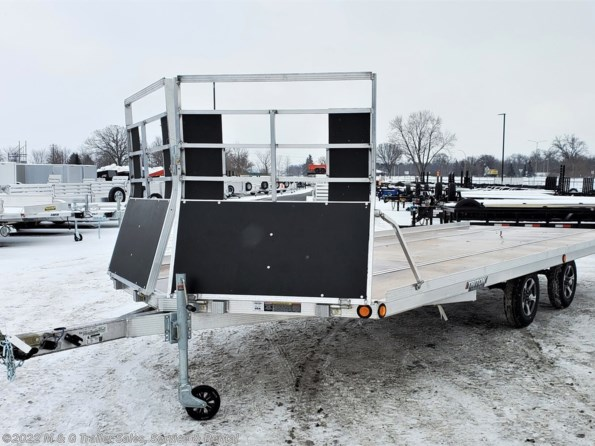 2021 Triton Trailers Elite 22-101 4 Place Snowmobile Trailer - Drive On available in Ramsey, MN