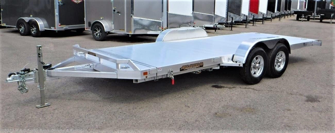 2022 Aluma 8218H Tilt Aluminum Car Hauler - Stock #238585