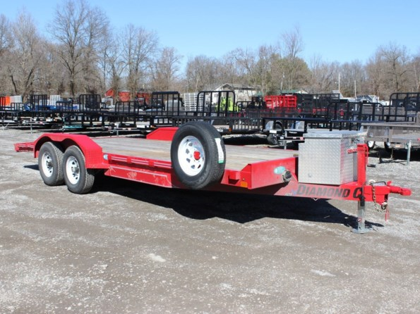 2019 Diamond C GTF252-20X82-RED available in Mount Vernon, IL