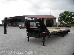 2020 Rice Trailers 102x25 GOOSENECK FLATBED