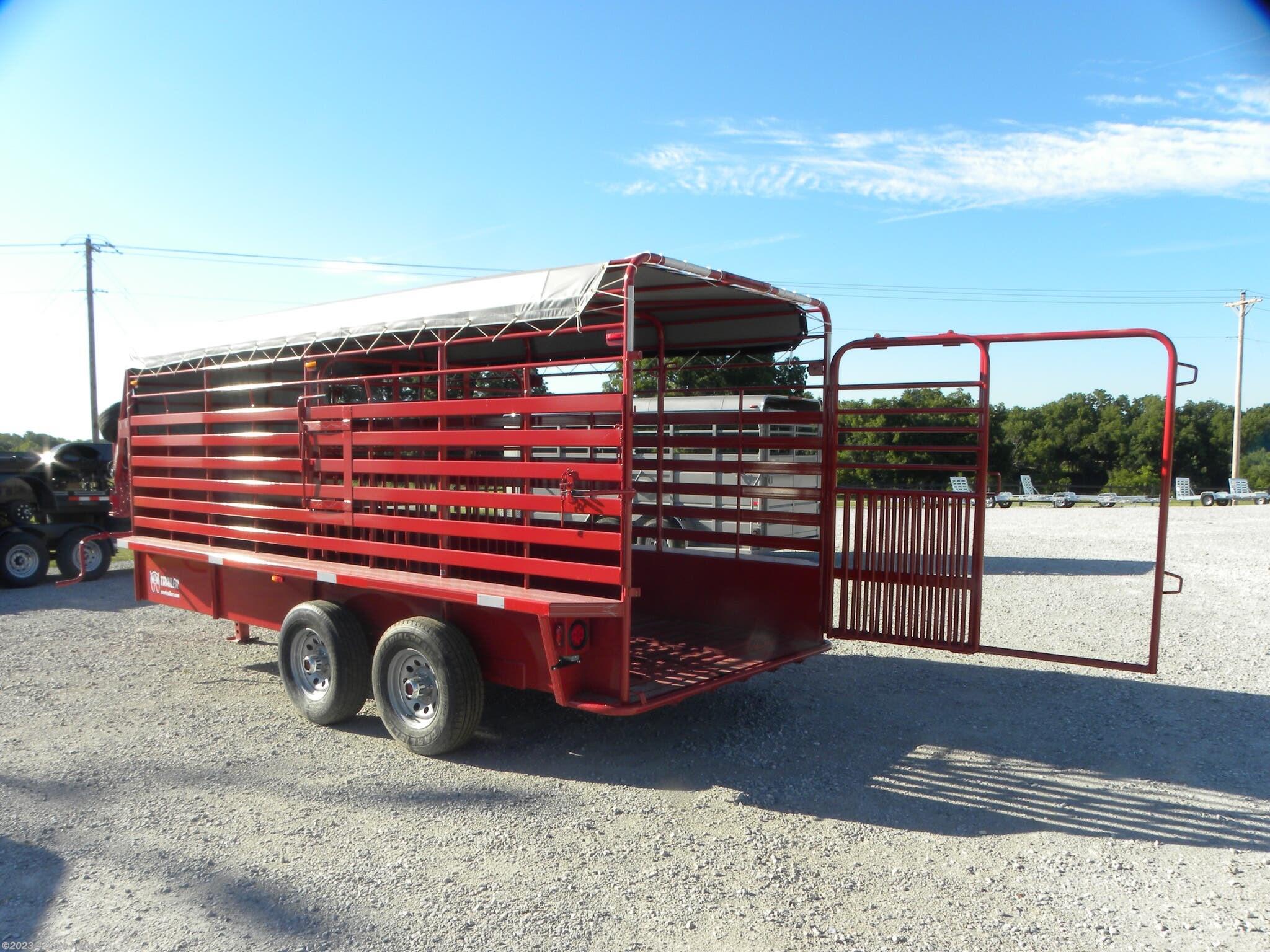 Livestock Trailer - 2020 W-W Trailer 6x16 Gooseneck Stock ...