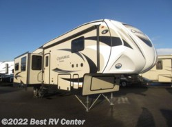 New 2018  Coachmen Chaparral 336TSIK  12 CU FT Refer/ Triple Slideoutss/Island  by Coachmen from Best RV Center in Turlock, CA