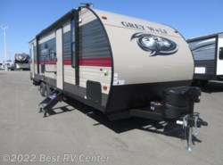 New 2019  Forest River Cherokee Grey Wolf 26DBH Fire Place/ /Two Full Size Bunks /Two Entry  by Forest River from Best RV Center in Turlock, CA