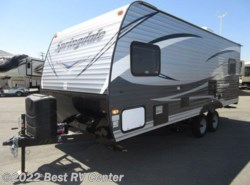 New 2018  Keystone Springdale 201RDWE REAR LIVING/FRONT QUEEN BED by Keystone from Best RV Center in Turlock, CA