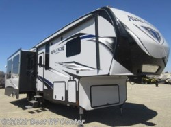 New 2018  Keystone Avalanche 320RS Three Slideouts/ Rear Living/ /6 POINT HYDRA by Keystone from Best RV Center in Turlock, CA