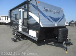 New 2018  Keystone Springdale 220BHWE Two Full Size Bunks/Outside Kit /Front Wal by Keystone from Best RV Center in Turlock, CA