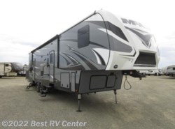 New 2017  Keystone Fuzion Impact FZ351 13 FOOT GARAGE/ 6 POINT HYDRAULIC AUTO LEVEL by Keystone from Best RV Center in Turlock, CA