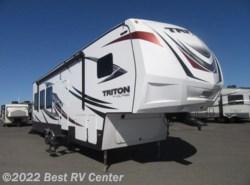 New 2018  Dutchmen Voltage Triton 3351 CALL FOR THE LOWEST PRICE! /20 Ft Cargo Area/ by Dutchmen from Best RV Center in Turlock, CA
