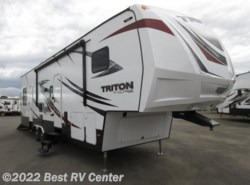 New 2017  Dutchmen Voltage Triton 3451 12 Ft 7 In Garage/ Dual A/C/ Onan 5.5 Generat by Dutchmen from Best RV Center in Turlock, CA