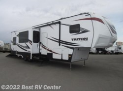New 2017  Dutchmen Voltage Triton 3551 Onan 5.5 Generator/ Two Bathrooms/Dual A/C by Dutchmen from Best RV Center in Turlock, CA