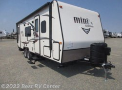 New 2017  Forest River Rockwood Mini Lite 2503S SOLID SURFACE / Oyster Fiberglass / Frameles by Forest River from Best RV Center in Turlock, CA