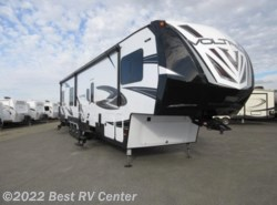 New 2017  Dutchmen Voltage 3815 6 Point Hydraulic Auto Leveling/ /18 Ft Garag by Dutchmen from Best RV Center in Turlock, CA