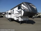 2018 Forest River  HERITAGE GLEN 346RK REAR KITCHEN/ 3 SLIDE OUTS