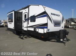 New 2018  Keystone Fuzion Impact 330 12' 6 GARAGE/ 2 SLIDE OUTS/ ONAN 5.5 GENERATOR by Keystone from Best RV Center in Turlock, CA