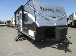 New 2018  Keystone Springdale 202QBWE Rear Living/ Front Walkaround Bed by Keystone from Best RV Center in Turlock, CA