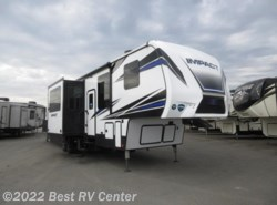 New 2018  Keystone Fuzion Impact 367 CALL FOR THE LOWEST PRICE! 6 POI 13Ft Garage/  by Keystone from Best RV Center in Turlock, CA