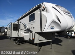 New 2018  Coachmen Chaparral 336TSIK  12 CU FT Refer/ Triple Slideouts/Island k by Coachmen from Best RV Center in Turlock, CA
