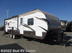 New 2018  Forest River Wildwood 27RLSS Rear Living/ Two Entry Doors/ LG Solid Surf by Forest River from Best RV Center in Turlock, CA
