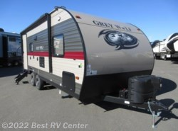 New 2019  Forest River Cherokee Grey Wolf 21RB Slide Out/ U Shaped Dinette/ Rear Bath by Forest River from Best RV Center in Turlock, CA