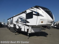 New 2018  Dutchmen Voltage 3815  18 Ft Garage/3 AC/ 6 Pt. Hydraulic Auto Leve by Dutchmen from Best RV Center in Turlock, CA
