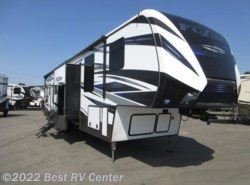 New 2018  Keystone Fuzion FZ427 13.6 Ft Gar /2  Bathrooms/6 Pt Hydraulic Aut by Keystone from Best RV Center in Turlock, CA