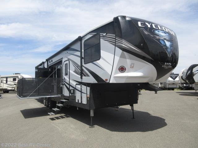 Toy Hauler 2019 Heartland Cyclone 4270 Call For The Lowest Price
