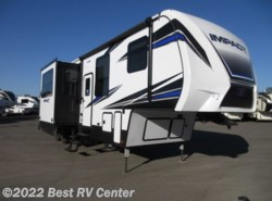 New 2018 Keystone Fuzion Impact 367  13Ft Garage/ 12 Cu Ft Refer/ 6 Point Auto lev available in Turlock, California
