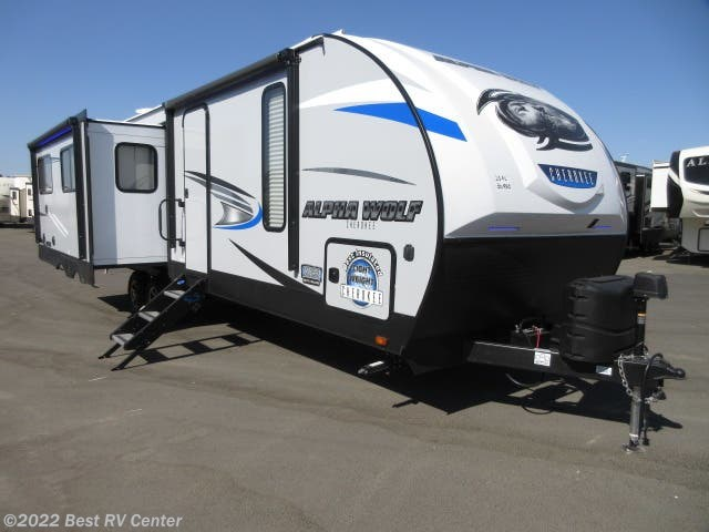Best Travel Trailers 2020 Travel Trailer   2020 Forest River Cherokee Alpha Wolf 26RL Rear
