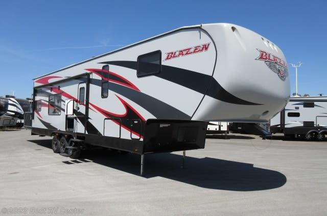Best Patio Doors 2020 2020 Pacific Coachworks RV Blaze'n 3414 5.5 Onan Gen/ Wine Cooler