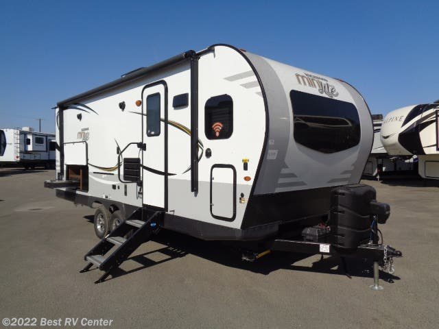 Best Small Travel Trailers 2020 2020 Forest River RV Rockwood Mini Lite 2506S White/ All Power