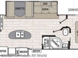 New 2017  Coachmen Freedom Express Liberty Edition 320BHDS by Coachmen from AC Nelsen RV World in Shakopee, MN