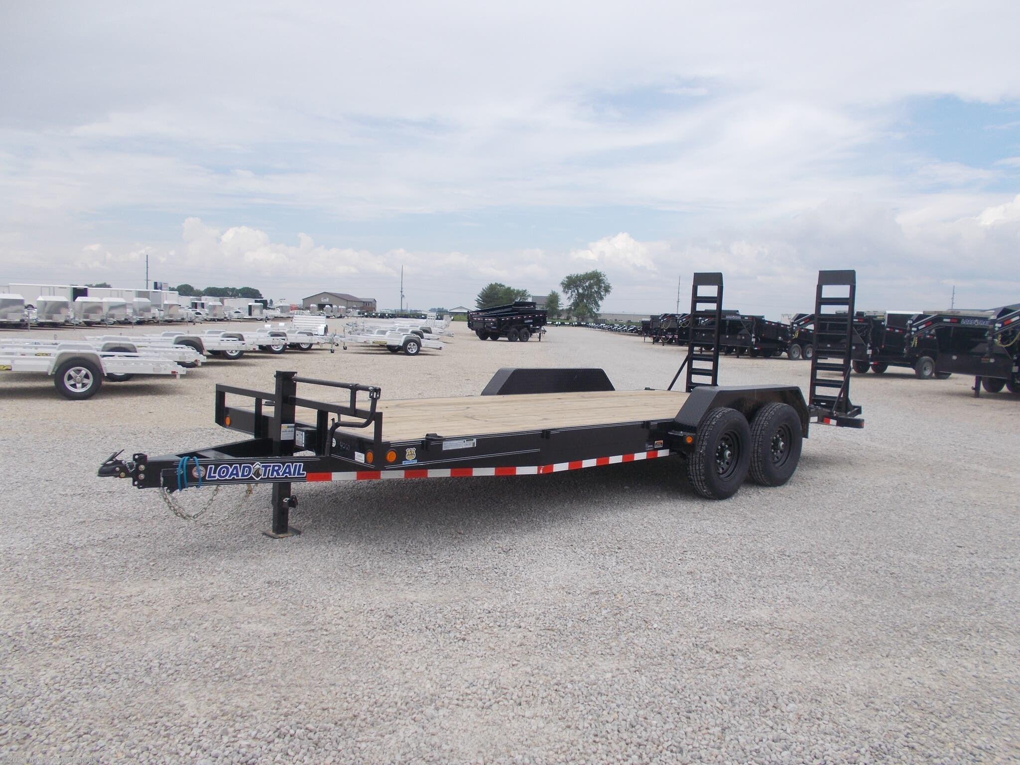 2020 Load Trail 83 X 20' Equipment Trailer 14K LB Flatbed - Stock #4526