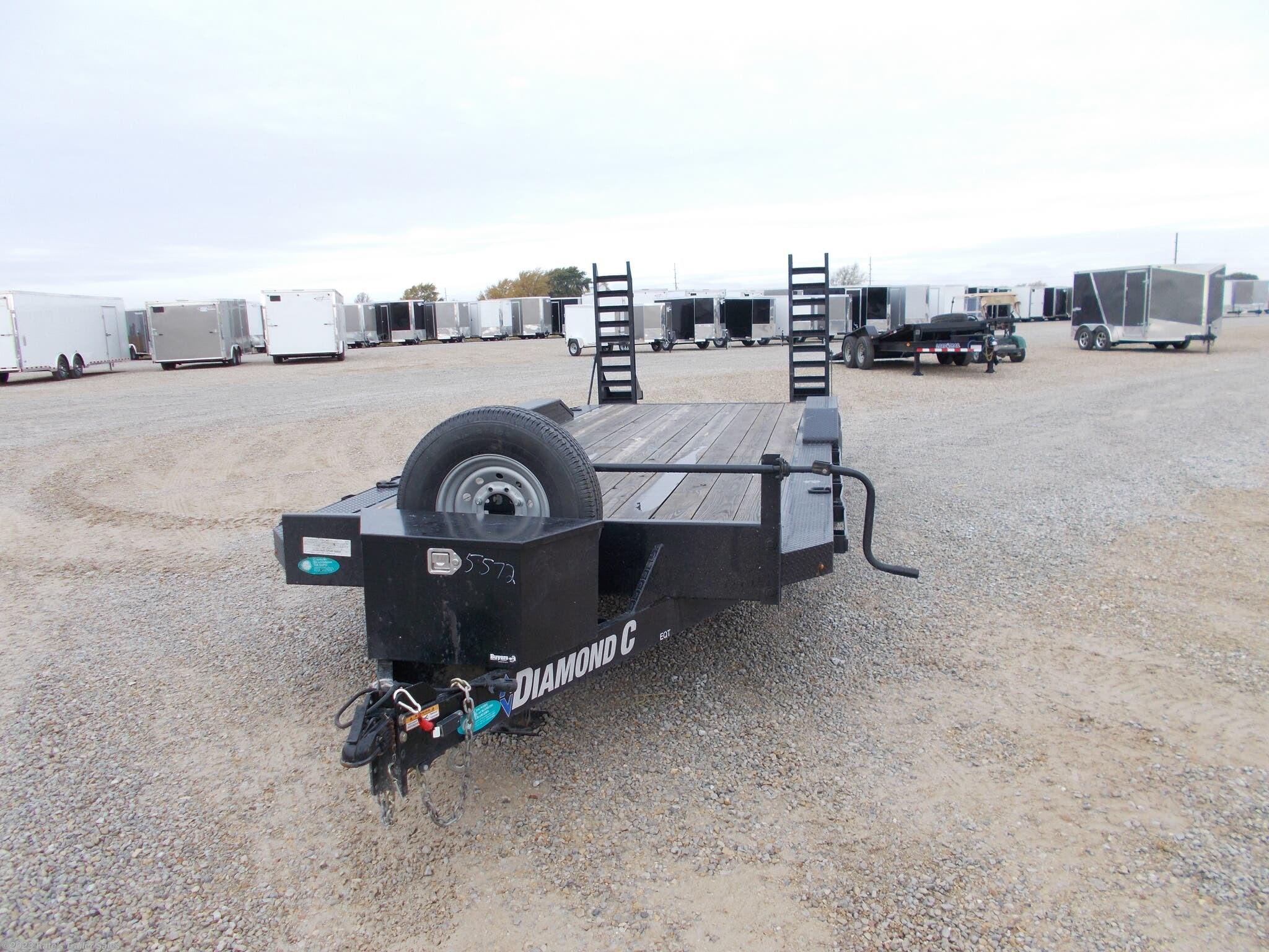 2019 Diamond C 102X22' 14K Equipment Trailer - Stock #5572