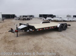 2021 Rice Trailers 9.9k Car Hauler 82x20' Flatbed HD Car Hauler Trailer w/ Toolbox