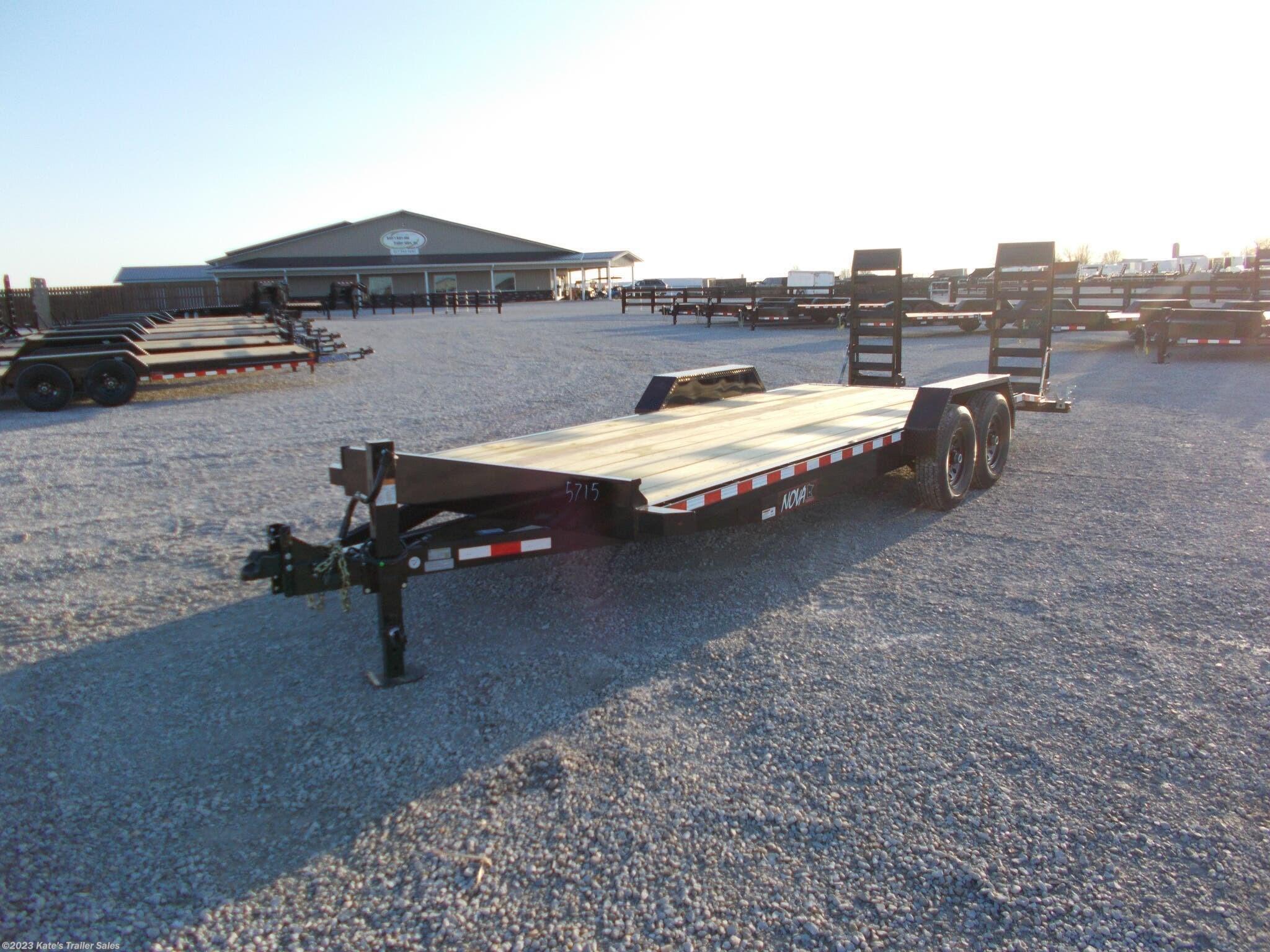 2021 Midsota Nova 82X22' Equipment Trailer w/Upgrades - Stock #6093