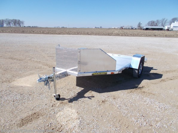 2022 Aluma MC210 (2) Motorcycle Trailer w/ Slide In Ramp available in Arthur, IL