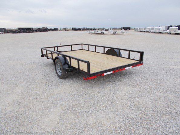 2021 Load Trail 83X12 Single Axle Utility Trailer available in Arthur, IL
