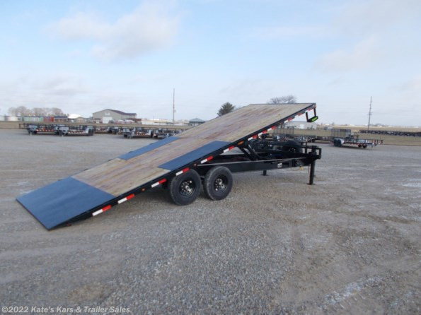 2021 Load Trail 102X24 Full Power Tilt Deck Trailer available in Arthur, IL