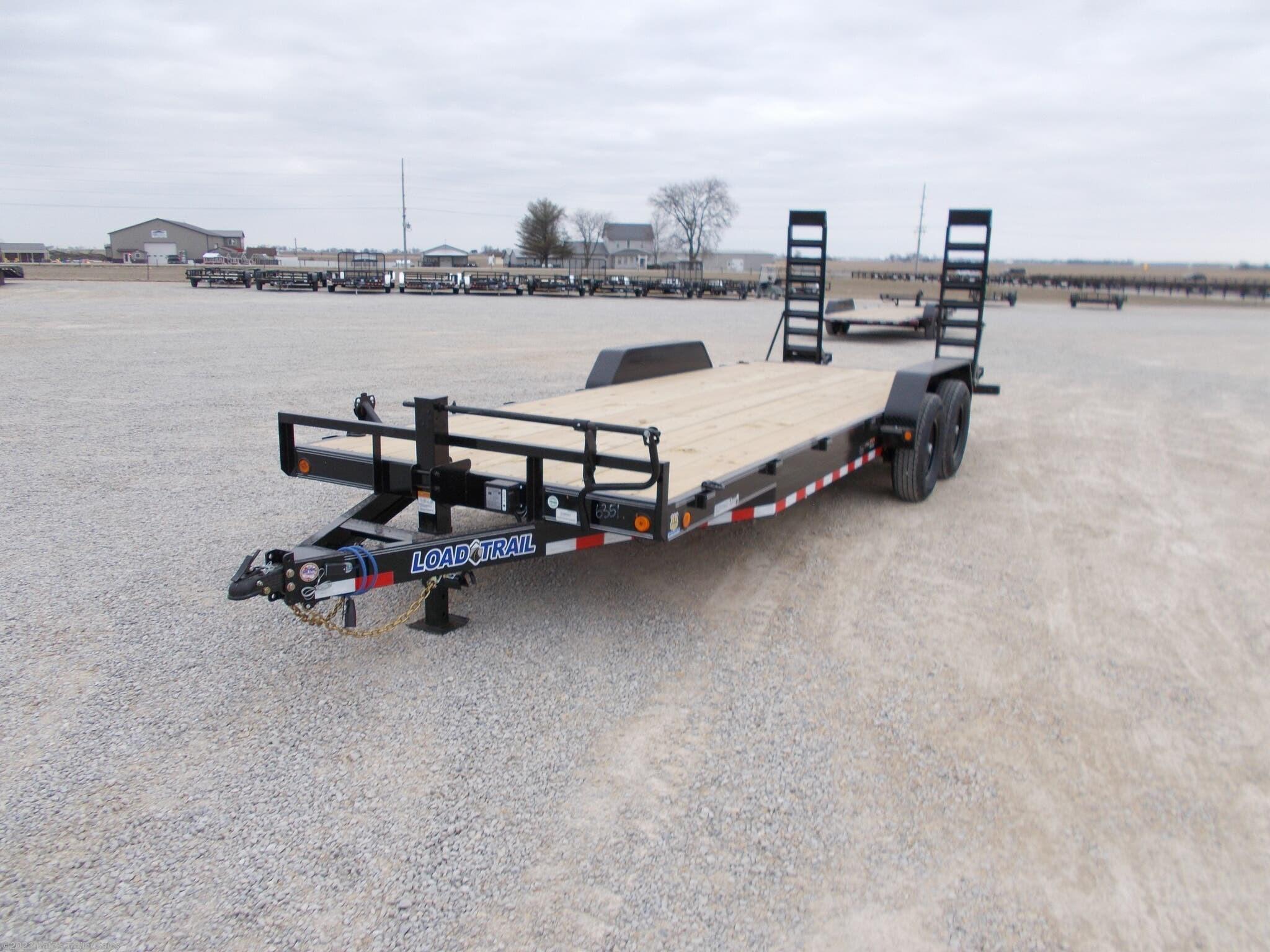 2021 Load Trail 83X22' Equipment Trailer 14000 LB GVWR - Stock #6883