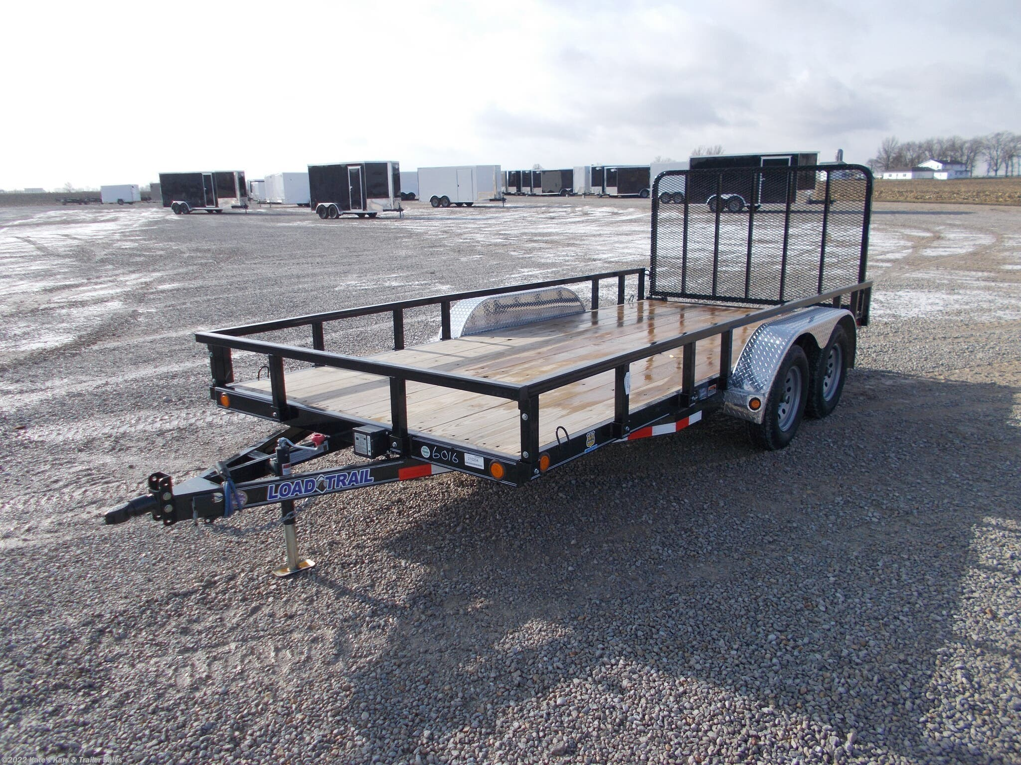 2021 Load Trail 83X16' Utility Trailer Removable Sides - Stock #7137