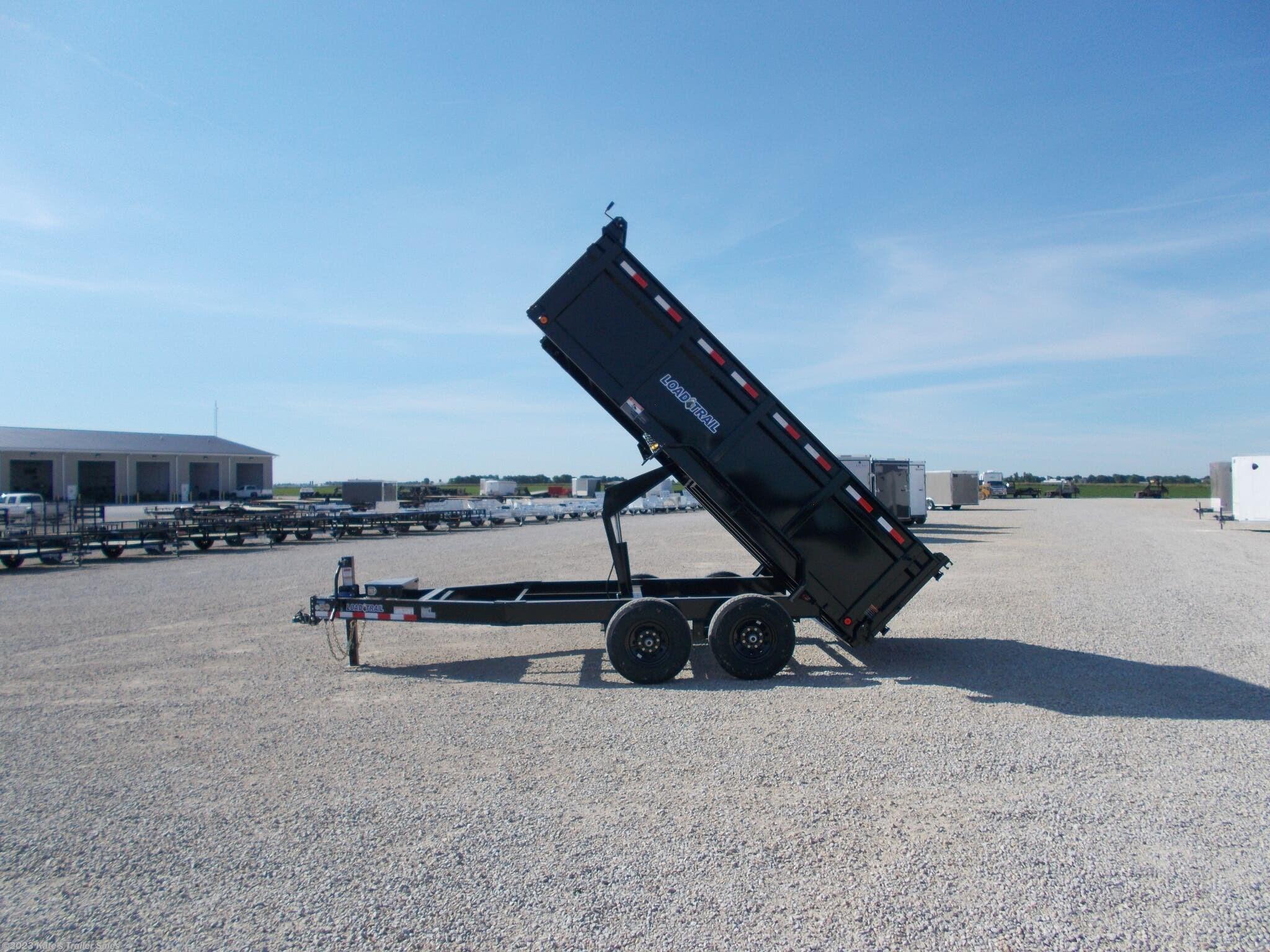 "2021 Load Trail 83X14' Dump Trailer 36"" Sidewalls 14K GVWR - Stock #7074"