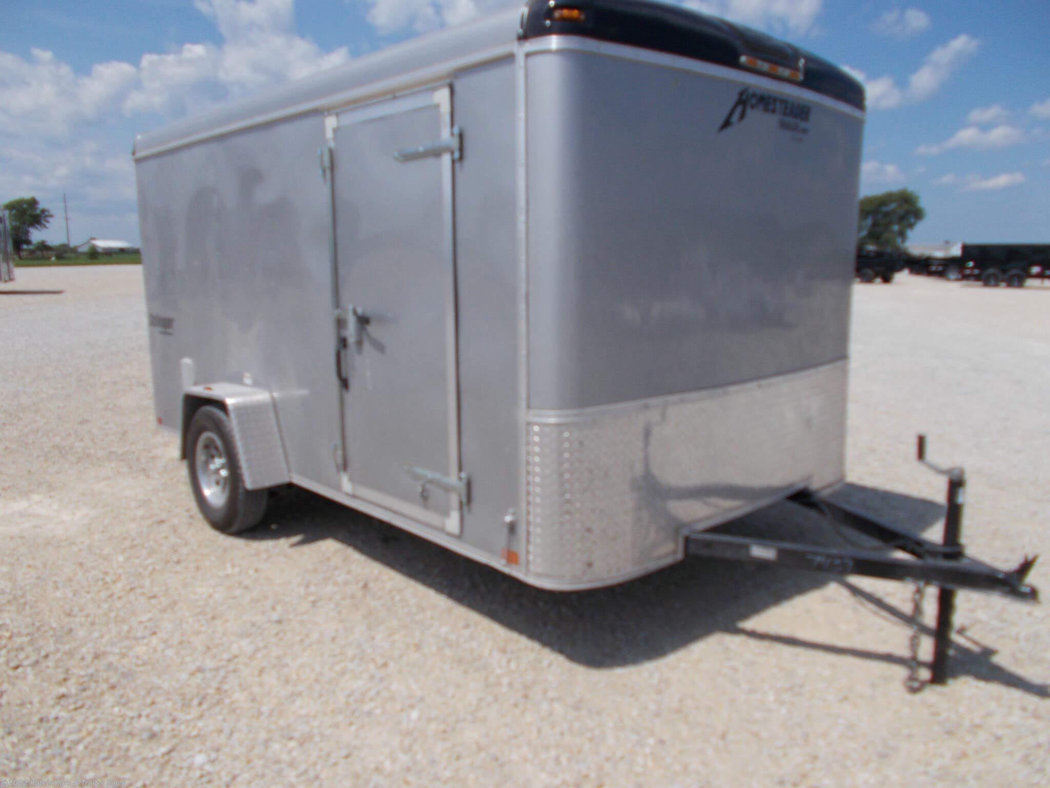 2019 Homesteader Used 7x12 Enclosed Trailer - Stock #7439