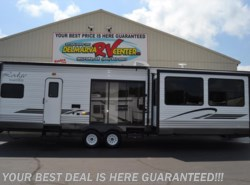 New 2018  Forest River Wildwood XL/Lodge 393FLT by Forest River from Delmarva RV Center in Seaford in Seaford, DE