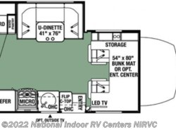 New 2018  Forest River Forester 2401WSD by Forest River from National Indoor RV Centers in Lawrenceville, GA