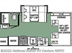 New 2018  Forest River Forester MBS 2401RSD by Forest River from National Indoor RV Centers in Lawrenceville, GA