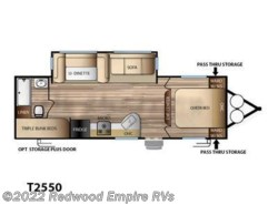 New 2017  Forest River Evo T2550 by Forest River from Redwood Empire RVs in Ukiah, CA