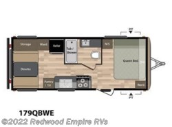 New 2018  Keystone Springdale Eco-Lite 179QBWE by Keystone from Redwood Empire RVs in Ukiah, CA
