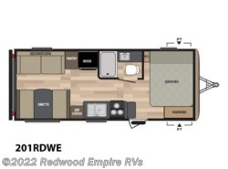 New 2018  Keystone Springdale Eco-Lite 201RDWE by Keystone from Redwood Empire RVs in Ukiah, CA